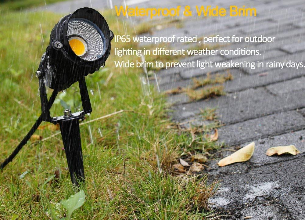 3W LED 12V-24V Waterproof Pathway Landscape Lights with Spike for Garden