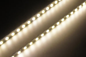5 Pack 19.7 inch Super Slim 4mm SMD3528 Rigid LED Strip lighting