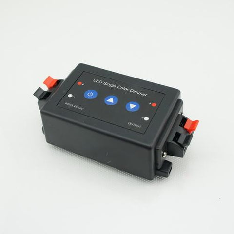 Image of 12V 8A RF Wireless Remote Control and Key Switch LED Dimmer for LED Strip
