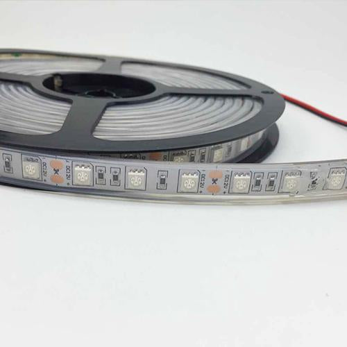 850nm/940nm SMD5050 60LEDs 14.4W Per Meter IR Infra Red Tri-Chip Flexible LED Strips