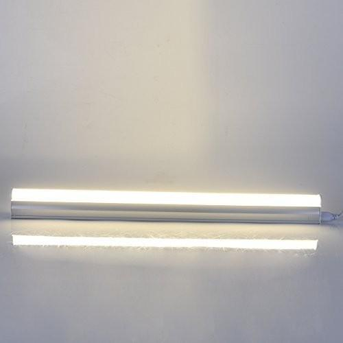 10Pcs Pack T5 LED Tube Light with Aluminum Fixture and Milky White cover
