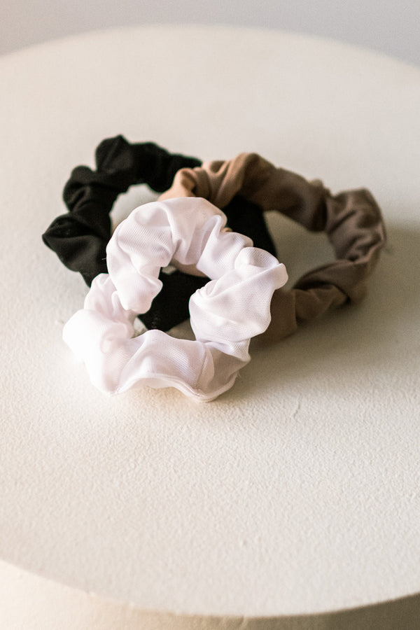 Mesh Scrunchies 3-pack
