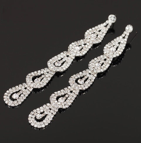 Jasmine Competition Earrings
