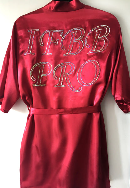 IFBB PRO Competition Robe