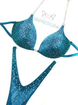Aqua Teal Wellness Suit
