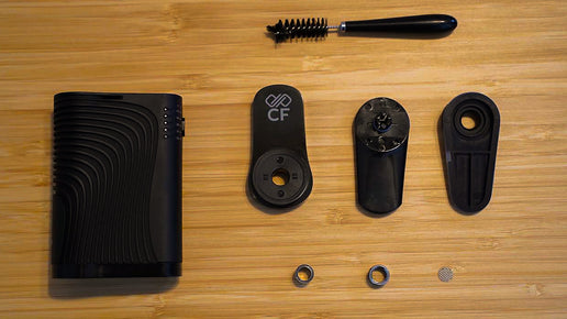 Boundless CF Vaporizer Cleaning and Maintenance