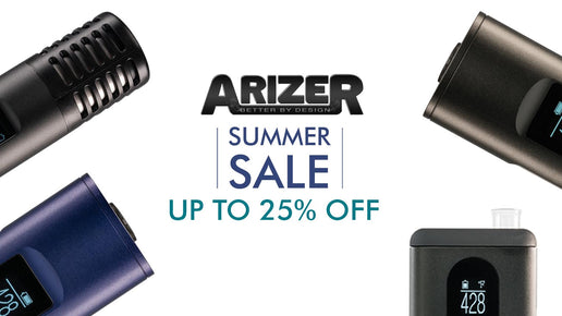 Grab a New Arizer Vaporizer in the Summer Sale and Save up to 25%
