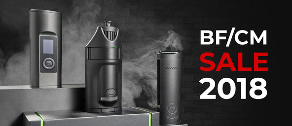 Black Friday & Cyber Monday Vaporizer Sale 2018
