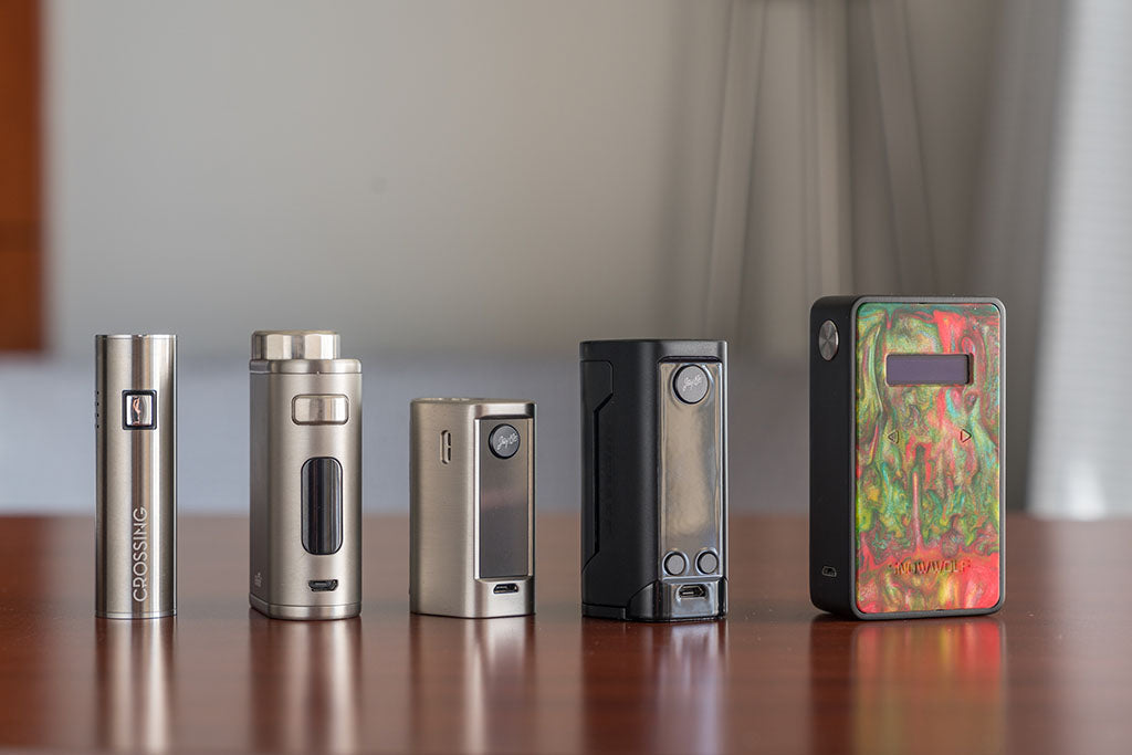 Saionara Box Mod Group Shot