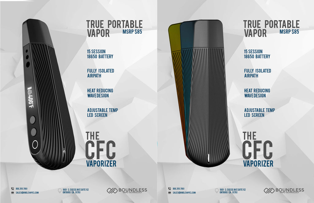Boundless CFC Vaporizer - Planet of the Vapes
