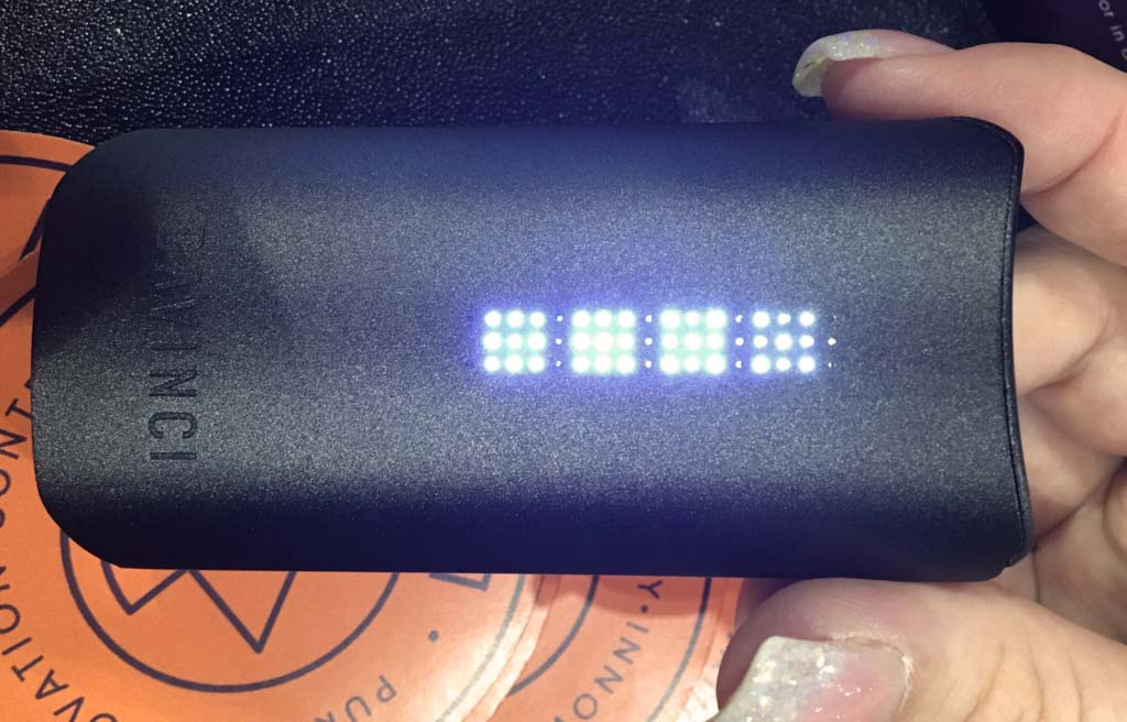 DaVinci IQ Vaporizer Lights On - Planet of the Vapes