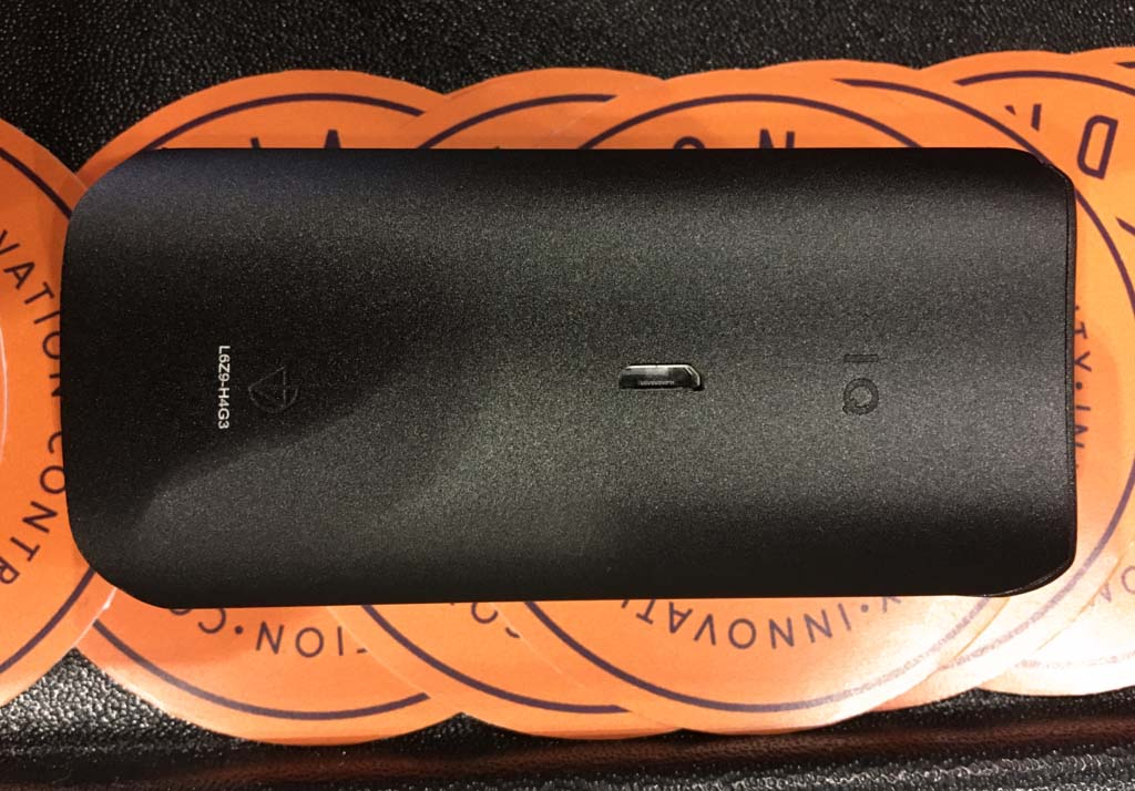 DaVinci IQ Vaporizer Back - Planet of the Vapes