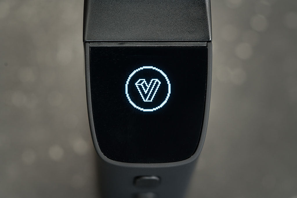 Planet of the Vapes ONE screen with V logo