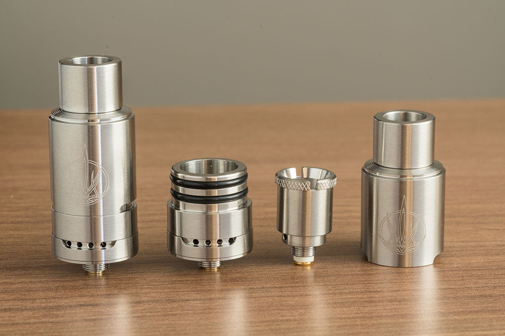 Sai Atomizer Pieces Taken Apart