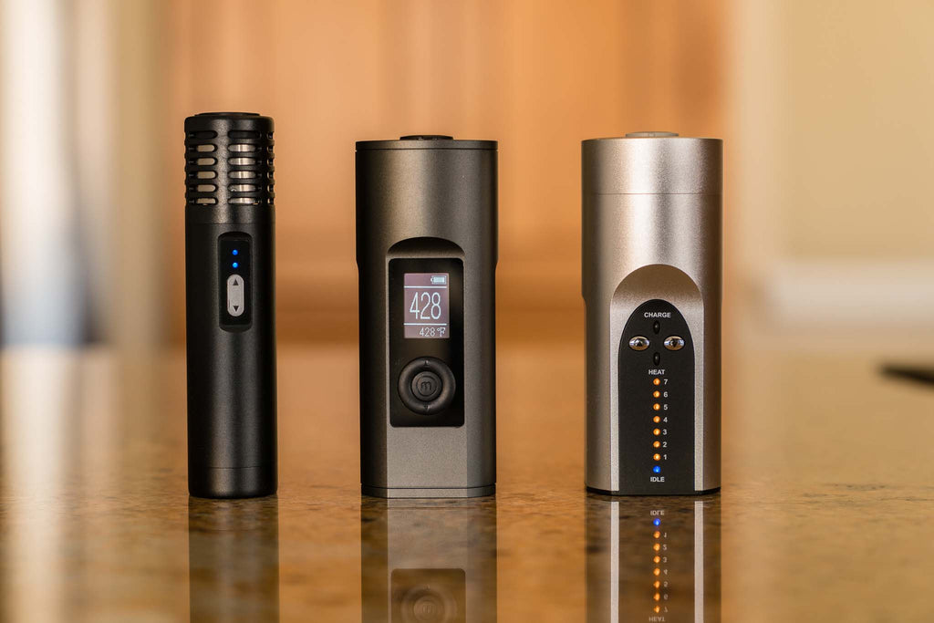Arizer Solo II vs Arizer Air vs Arizer Solo - Planet of the Vapes