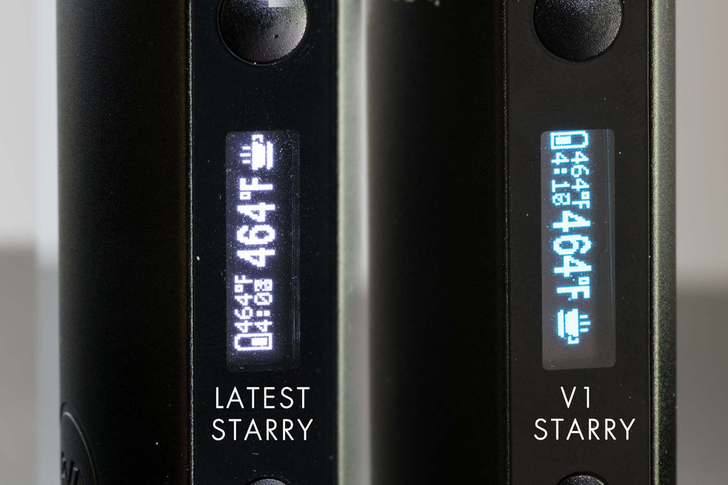 X MAX Starry Vaporizer Display Update - Planet of the Vapes