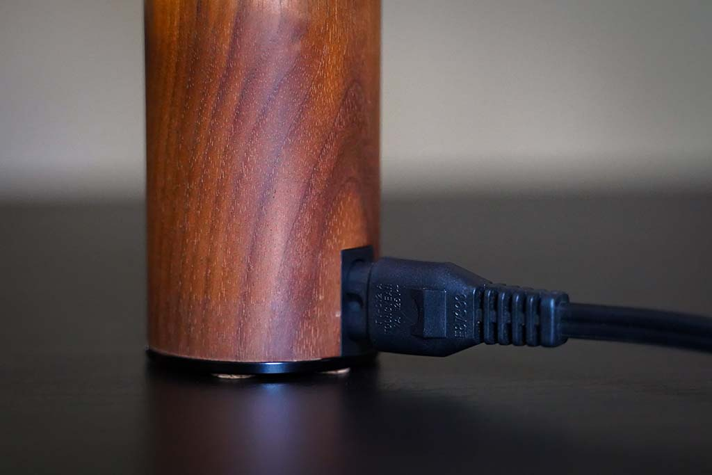 EpicVape E-Nano Review Power Cord Plugged in
