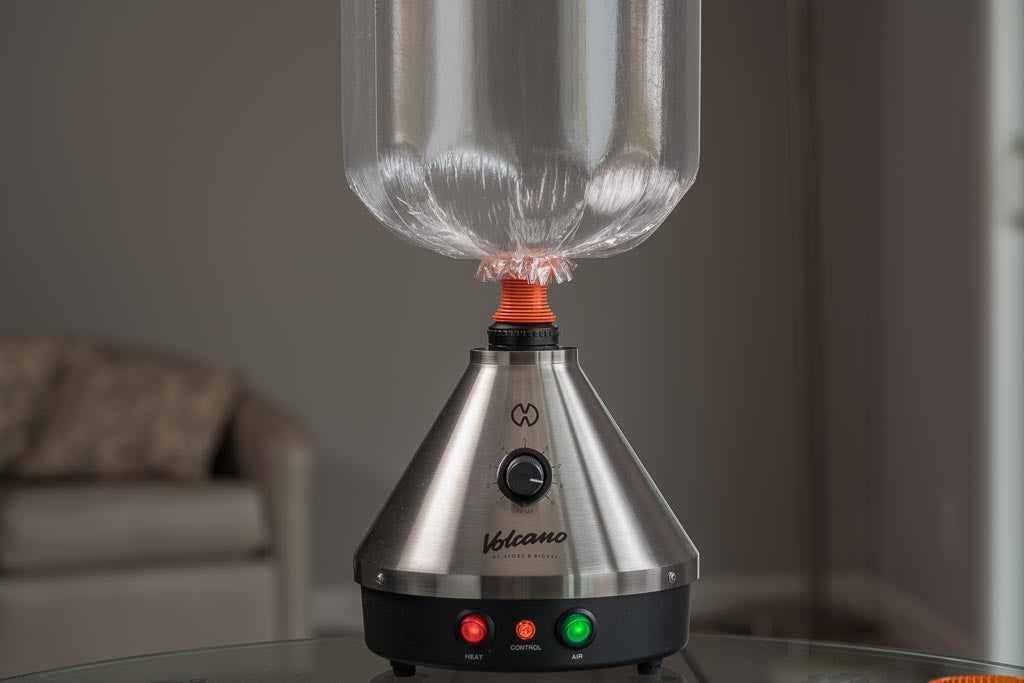 How to use your Volcano Vaporizer - Filling your Volcano bag