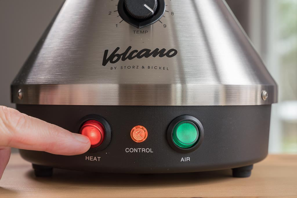 How to use your Volcano Vaporizer