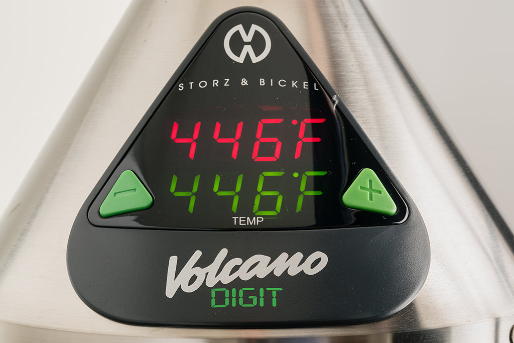 Storz & Bickel Volcano Digit Temperature