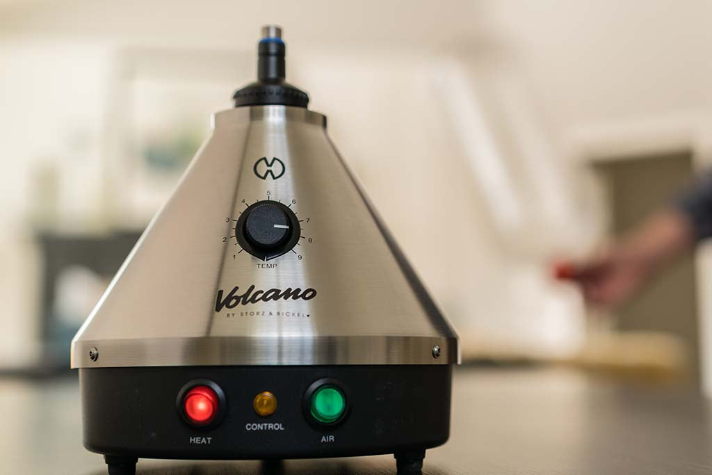 volcano vaporizer with oven