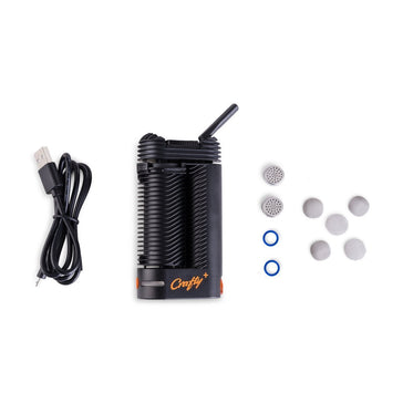 Crafty+ Vaporizer by Storz & Bickel box contents