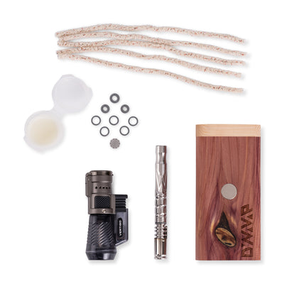 Dynavap M 2020 Starter Pack with cedar dynastash