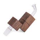 Sticky Brick Flip Brick Vaporizer Walnut Side View