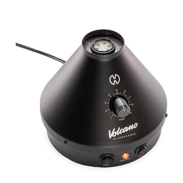 Volcano Classic Onyx Vaporizer By Storz and Bickel Side view Specs