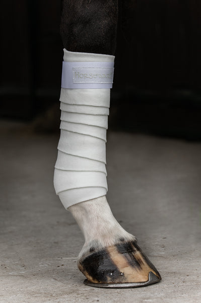 Horseware Fleece Bandages White