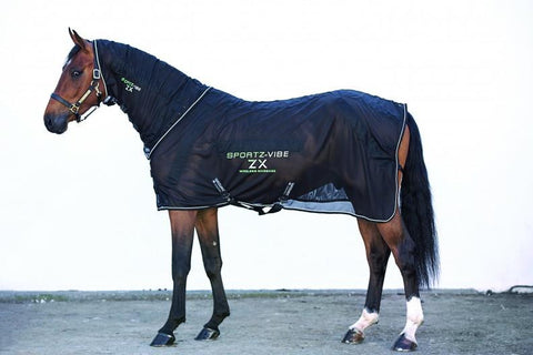 Sportz-Vibe ZX Horse Rug - Wireless Massage Therapy