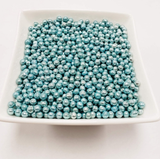 Blue Dragees 4mm - 80 grams