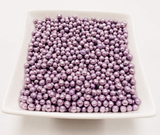 Purple Dragees 4mm - 80 grams