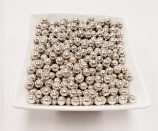 Silver Dragees 7mm - 80 grams