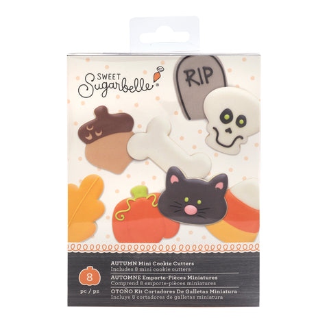 Sugarbelle Autumn Mini Cookie Cutters