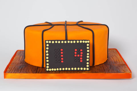 "Basketball ""Just a Slice"" Cake"