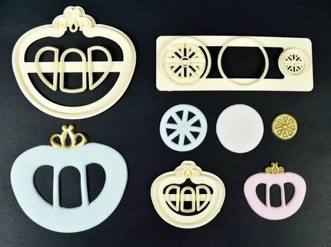 Princess Carriage Set of 2