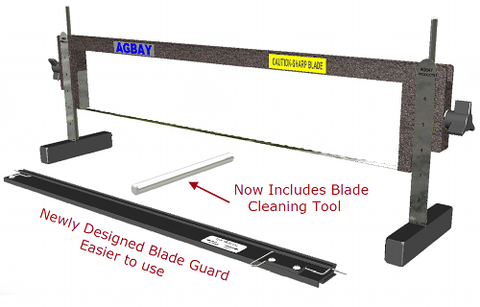 AGBAY Upgradeable Single Blade Cake Leveling Tool