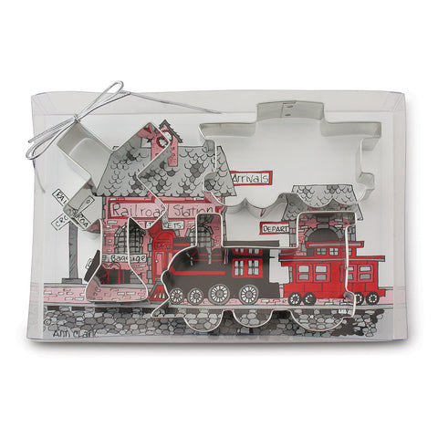 All Aboard Train Cookie Cutter Gift Set
