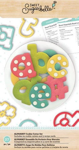 SUGARBELLE ALPHABET CUTTER SET
