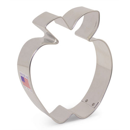 "Apple Cookie Cutter 3 1/2"" x 3"""