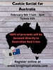 Cookie Social for Australia - February 9th, 2020