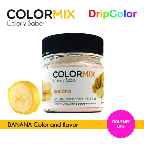 Banana Mix Gourmet Dripcolor