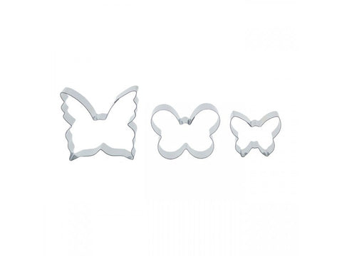 Set of 3 Butterfly Cutters