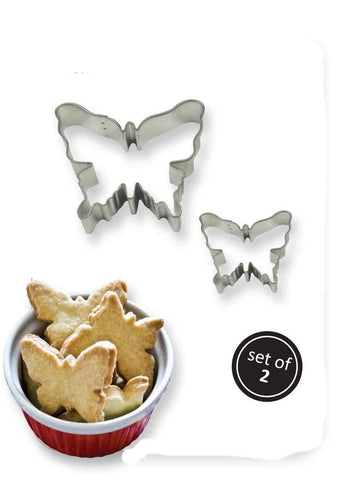 PME Butterfly cookie cutter Set of 2