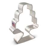 Cake w/ Stand Cookie Cutter 3 1/2""