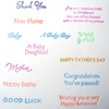 Celebration Lettering Assorted - Patchwork Cutter Set