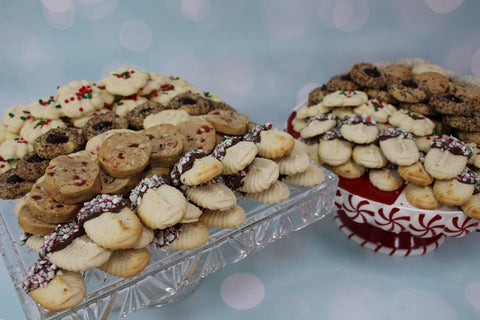 Too Nice to Slice Christmas Cookie Package - 10 dozen