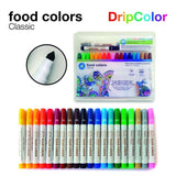 Dripcolor Food Color Pens Classic Set of 20