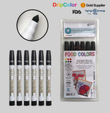 Dripcolor Food Color Pens Classic Black
